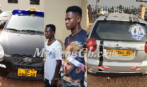 Ghana's biggest car snatching syndicate busted with 7 stolen cars