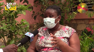 Watch video: Koku Anyidoho's wife speaks about how she was sacked, baggage thrown out of matrimonial home