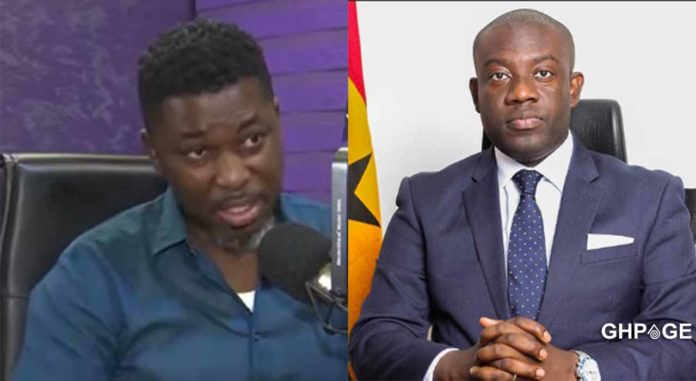 Watch video: Kojo Oppong Nkrumah is disrespectful & ungrateful -A Plus