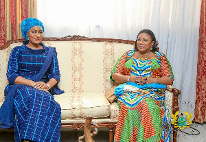 Rebecca Akufo-Addo and Samira Bawumia could cash out over GHc2.7million in 4 years