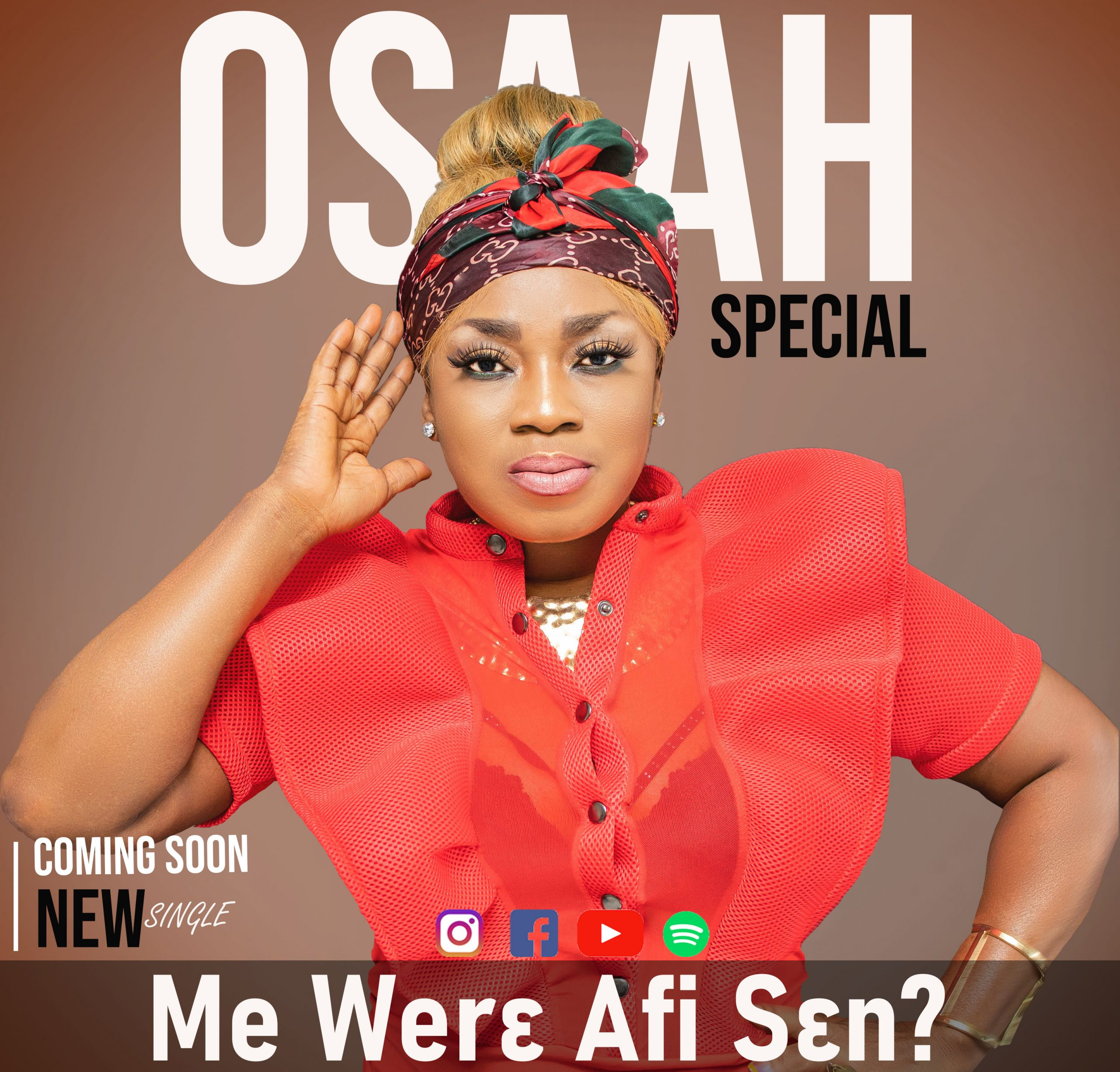 Osaah Special Set To Shake Ghana With A New Mind Blowing Song