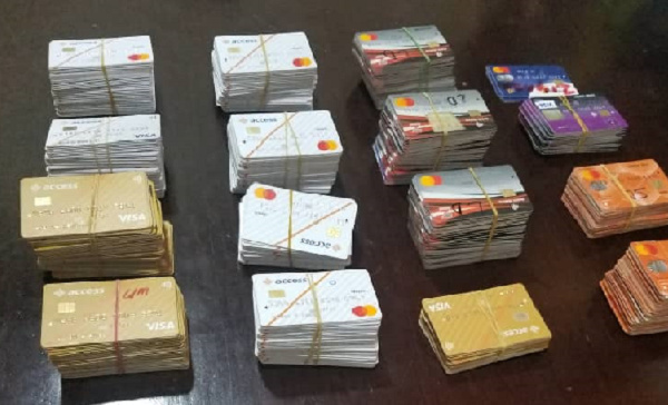 Man arrested with 656 ATM cards at Kotoka International Airport